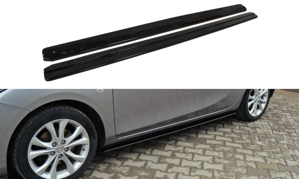 Dokładki Progów Mazda 3 MK2 Sport Przedlift - GRUBYGARAGE - Sklep Tuningowy